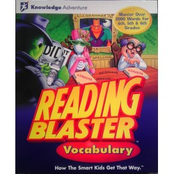 Reading Blaster Vocabulary - PC CD Game
