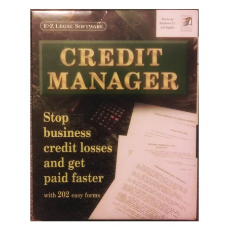 EZ Legal Software Credit Manager Software - Ez legal forms