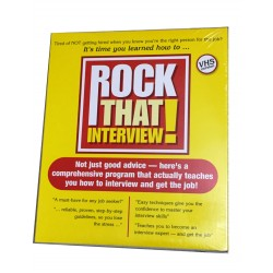 It's time you learned how to... Rock That Interview! (VHS)