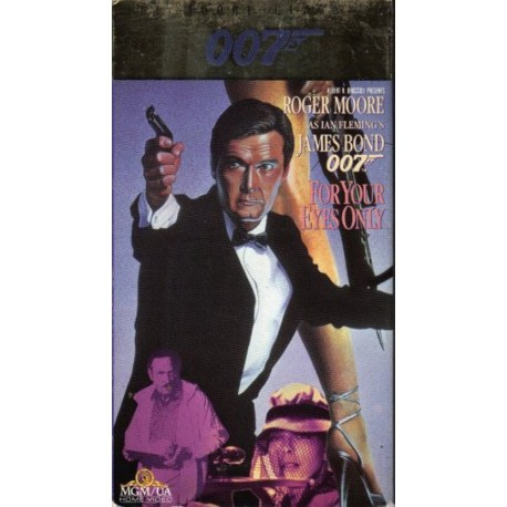 007: For Your Eyes Only (VHS)