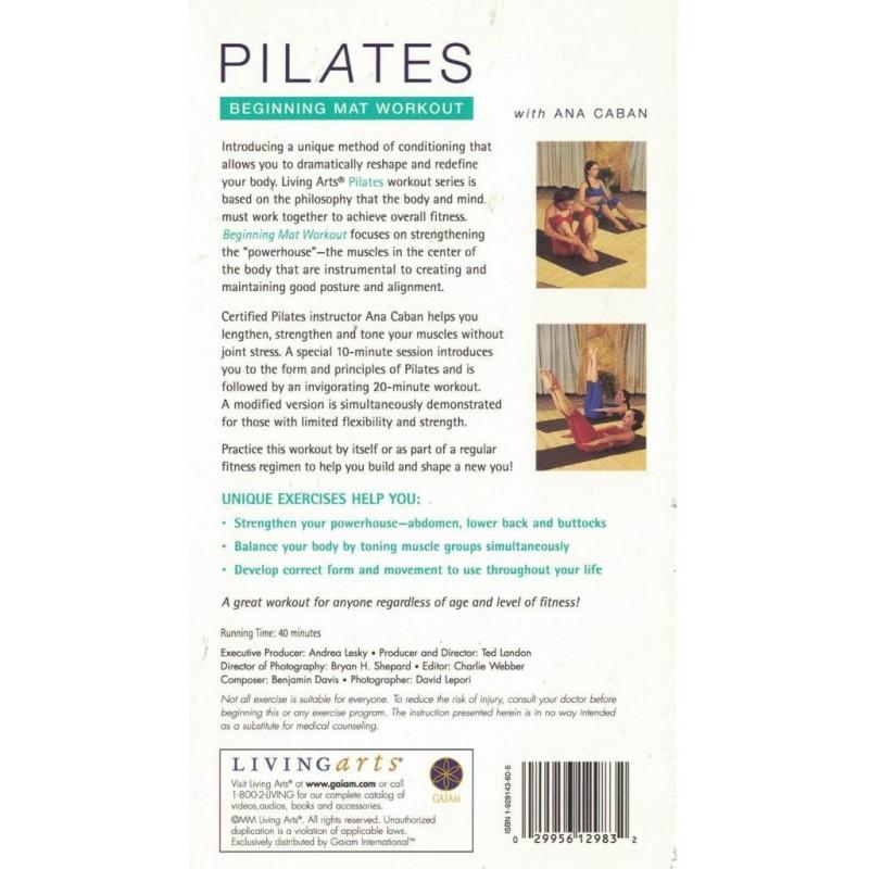 Pilates: Beginning Mat Workout (VHS)