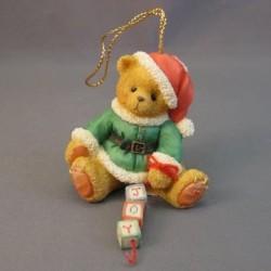 Cherished Teddies - Santa With Joy Blocks 176168