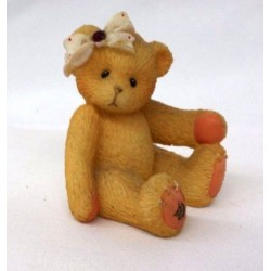 Cherished Teddies - Little Sparkle Mini - January Garnet Figurine 516635