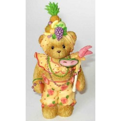Cherished Teddies - Yolanda Convention Girl/Masquerade Figurine 104041