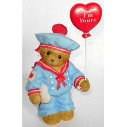 Cherished Teddies - Avery, Boy Sailor w/ Balloon Figurine 4004812