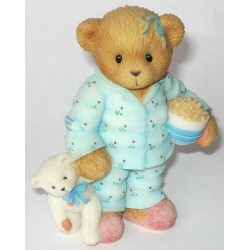 Cherished Teddies - Norma Girl With Pajamas Figurine 706639
