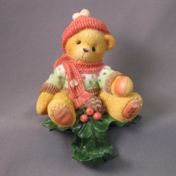 Cherished Teddies - Christmas Stocking Holder 534587