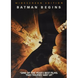 Batman Begins – Single-Disc Widescreen Edition (DVD)