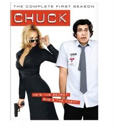 Chuck: The Complete First Season – Four-Disc Widescreen Edition (DVD)