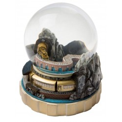 Lionel Golden Train Snow Globe