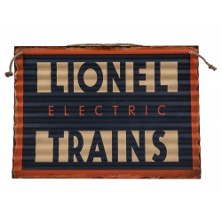 Lionel Electric Trains Corrugated Iron Wall Hanging