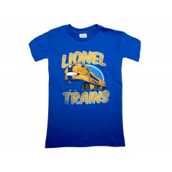 Youth T-Shirt - Royal Happy Train (Large)