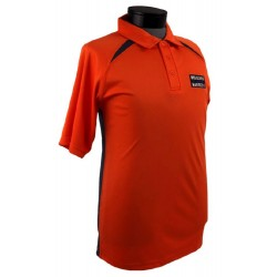 Lionel Electric Trains Orange Polo (Medium)