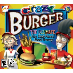 Crazy Burger - PC CD Game
