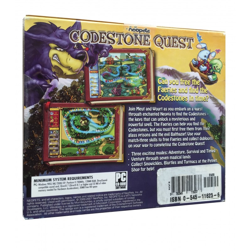 Neo Pets: Codestone Quest - PC CD Game - Arz Libnan