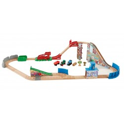 Thomas & Friends™ Wooden Railway Race Day Relay Set