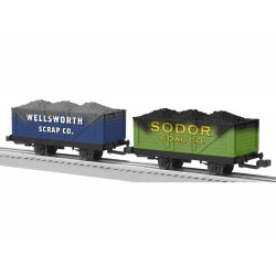 Sodor Coal and Scrap Cars 2-Pack