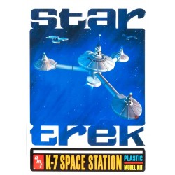 Star Trek K-7 Space Station Model Kit In Collectors Tin by AMT