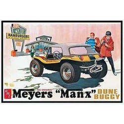 "Meyers ""Manx"" Dune Buggy Plastic Model Kit 1/25 AMT"