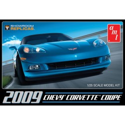 2009 Corvette Plastic Model Kit 1/25 AMT