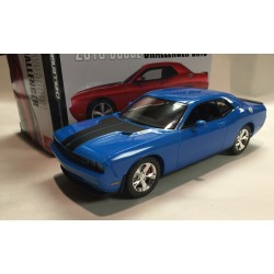 2010 Dodge Challenger SRT8 B5 Blue (Assembled) 1/25 AMT