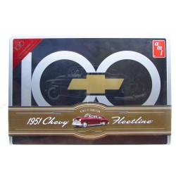 1951 Chevy Fleetline Collectible Tin 1/25 AMT