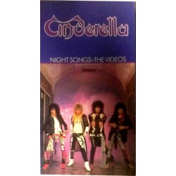 Cinderella - Night Songs The Videos (VHS)