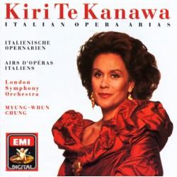 Kiri Te Kanawa - Italian Opera Arias (Audio CD)