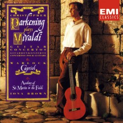 Christopher Parkening Plays Vivaldi Guitar Concertos & Warlock Capriol Suite (Audio CD)
