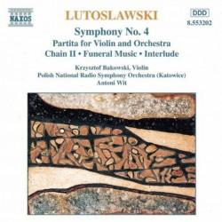 Lutoslawski: Symphony No. 4 (Audio CD)