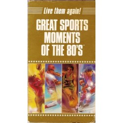 Great Sports Moments of the 80's (VHS)