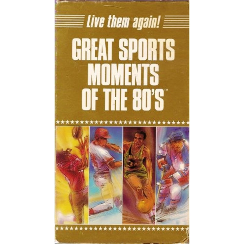 Great Sports Moments Of The 80 S Vhs Arz Libnan