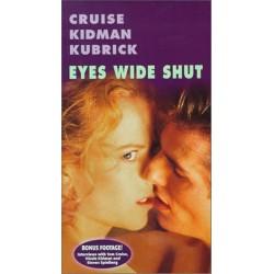 Eyes Wide Shut - with Bonus Footage (VHS)