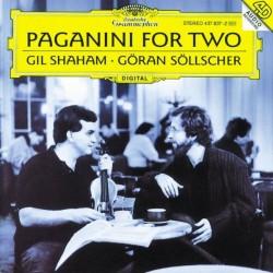 Paganini for Two - Gil Shaham, Goran Sollscher (Audio CD)