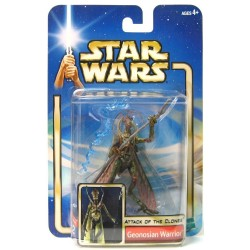 Star Wars Attack of the Clones Blue Card, Geonosian Warrior