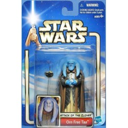 Star Wars Attack of the Clones Blue Card, Orn Free Taa