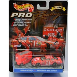 Ford Taurus and Tool Box - Michael Waltrip (Pro Racing Hot Wheels)
