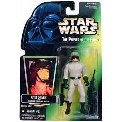 Star Wars The Power of the Force Green Card, AT-ST Driver with Hologram