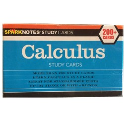 Sparknotes Calculus Study Cards (200 + Cards)