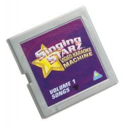 Singing Starz Video Karaoke Machine Song Cartridge Vol. 1