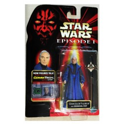 Star Wars Episode 1 Chancellor Valorum with CommTech Chip