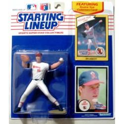 1990 Jim Abbott MLB Starting Lineup