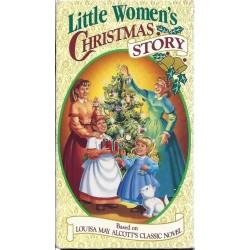 Little Women's Christmas Story (VHS)