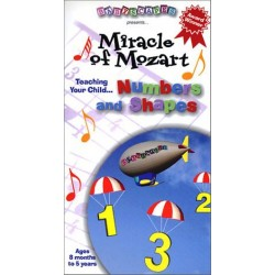 Babyscapes: Miracle of Mozart - Numbers and Shapes (VHS)