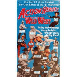 Action Heroes of the Wild West (VHS)