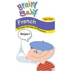 Brainy Baby - French Simple Words & Phrases (VHS)
