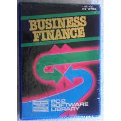 Business Finance - Radio Shack TRS-80 PC-2 Software Library Cat. No. 26-3703