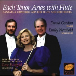 Bach Tenor Arias with Flute (Audio CD)