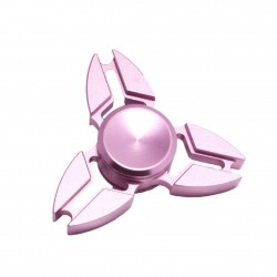 Fidget Spinner 'Crab' Toy Stress Reducer (Rose Gold - Aluminum)