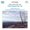 Spohr - Piano Trio Op. 119 and Piano Quintet Op. 130 (Audio CD)